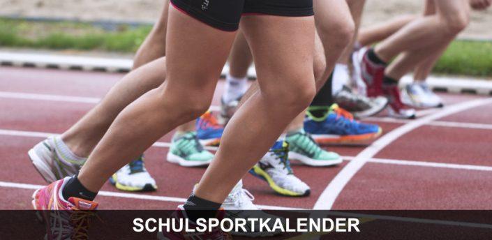 Wettkämpfe - Athleten beim Start auf der Laufbahn