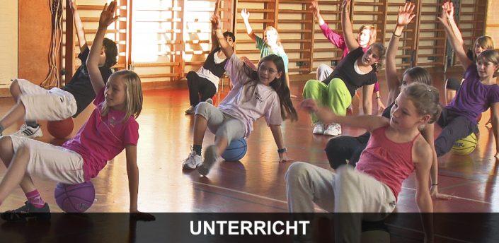 Schulsport Wien - Kinder beim Sportunterricht